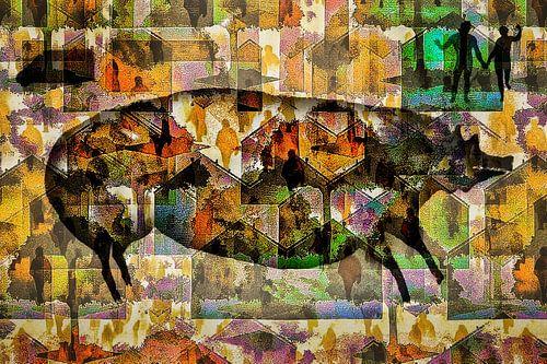Oudste grotschildering als moderne kunst (45.000 years of art)