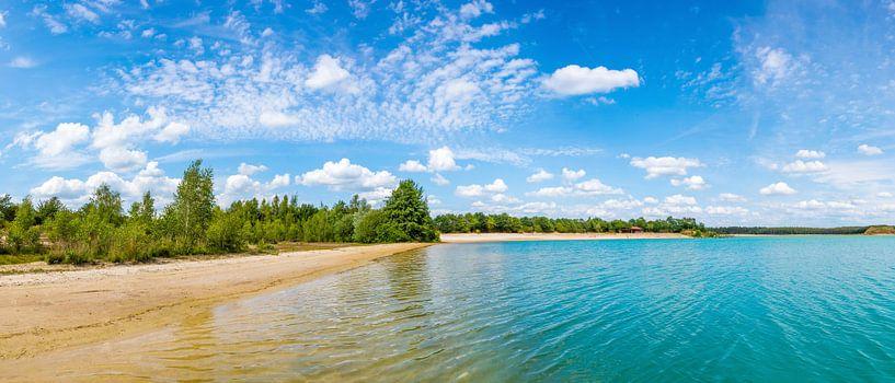 Mooi zwemmeer in het Emsland van Günter Albers