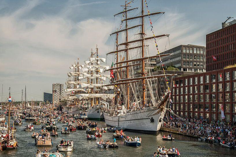 Sail Amsterdam 2015 van John Kreukniet