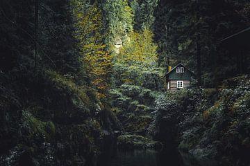 Het huisje aan de Kamenice Kloof