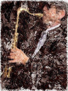 Saxofonist van ! Grobie
