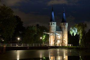 Oosterpoort Delft bij Nach van Gertjan Hesselink