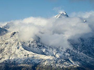 Opmerkingen in de sneeuw van Keith Wilson Photography