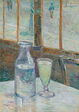 Kaffeetisch mit Absinth, Vincent van Gogh