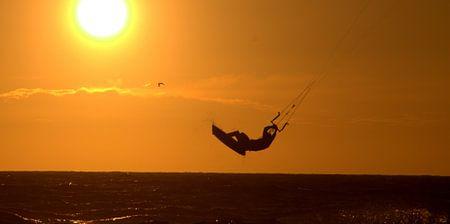 kitesurfer von Rick van Zelst