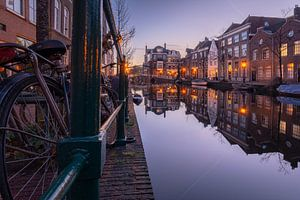 Oude Rijn Leiden van Martijn van der Nat