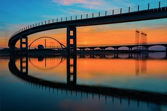 Nijmeegse bruggen van Maerten Prins