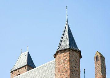 Tour du château de Doornenburg sur Marcel Rommens