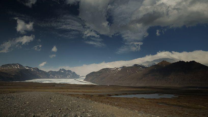 Solheimajokull #2 van Lex Schulte
