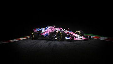 Sergio Pérez - Racing Point F1 Force India van Kevin Baarda