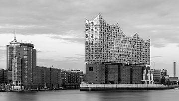 De Elbphilharmonie, Hamburg, Duitsland van Henk Meijer Photography
