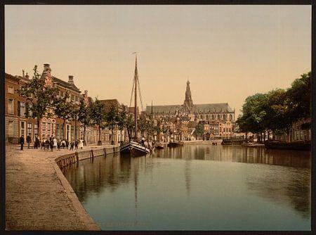 Turfmarkt en Spaarne, Haarlem