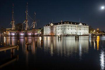 Musée maritime d'Amsterdam sur Fotografie Ronald
