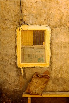 Yellow frame van Juul van Wandelen