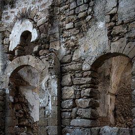 Ruin in Israel van Robert Beekelaar