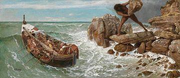 Odysseus und Polyphem, Arnold Böcklin