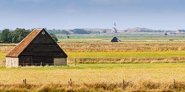 Ein Texel Landschaft von