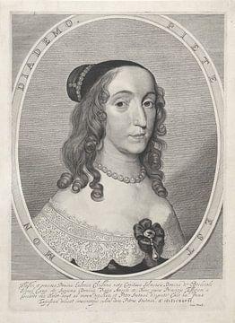 Portret van Ludovica Christina (illustratie)