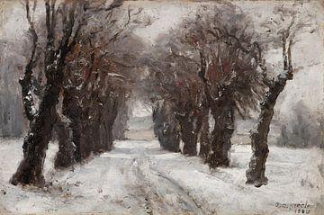 T C. Steele (Amerikaner, 1847-1926)~Winter in München