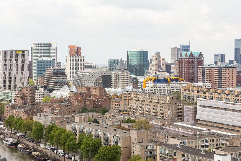 Rotterdam-Horizont von Camiel Mudde