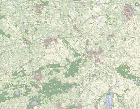 Kaart vanHardenberg van Rebel Ontwerp