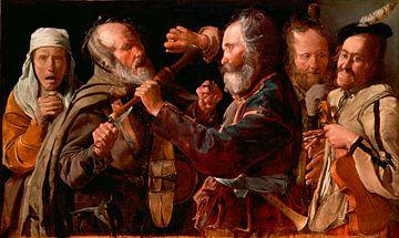 Schlägerei der Musiker, Georges de La Tour