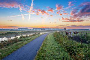 Moments before sunrise