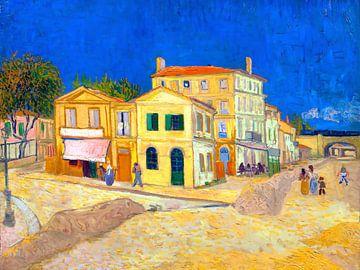 Das Gelbe Haus - Vincent van Gogh - 1888 von Jan Willem van Doesburg