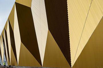 Driehoeken in goud van Patty Elferink