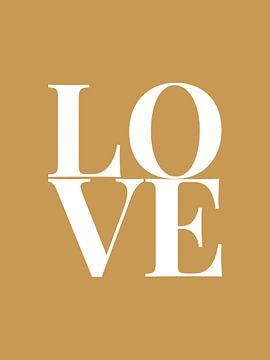Love (goud/wit)