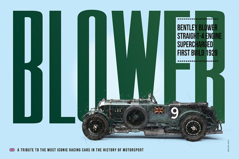 Bentley Blower von Theodor Decker