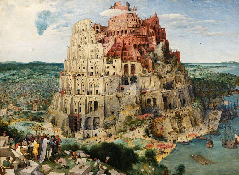 De Toren van Babel, Pieter Bruegel van Schilders Gilde