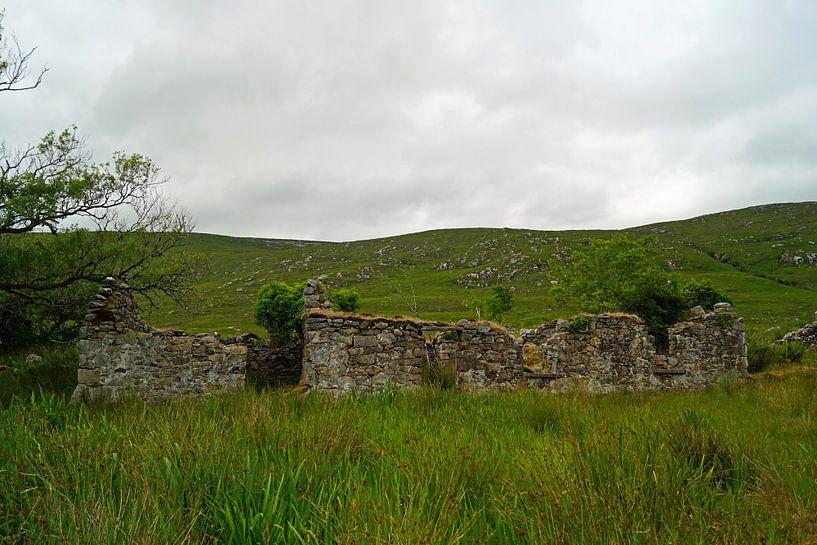 Ruïne in Ierland van Babetts Bildergalerie