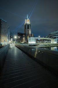Historische Laurenskerk, Rotterdam beleuchtet von Bob Vandenberg