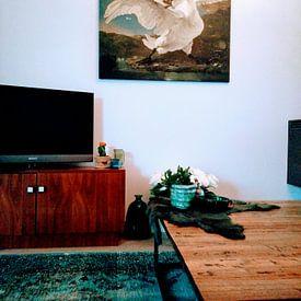 Photo de nos clients: Le cygne en voie de disparition, Jan Asselijn sur Rebel Ontwerp, sur toile