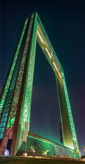 Dubai Frame van Rene Siebring
