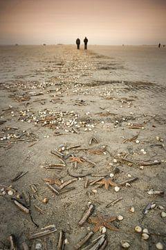 Strandspaziergang van Annette Sturm