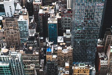 Manhattan Buildings van Ben Hoedt