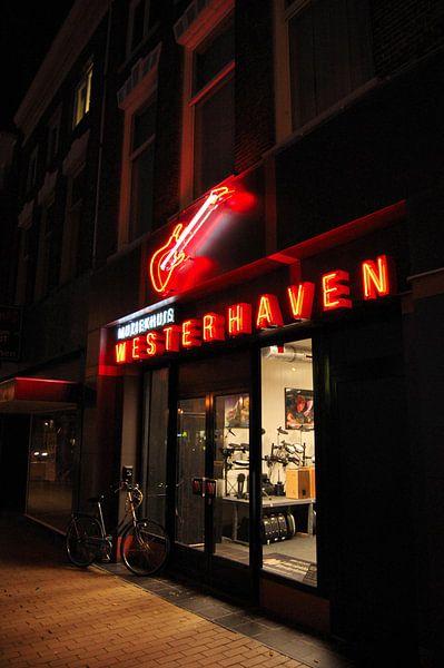 Muziekhuis Westerhaven Groningen van Edwin Teuben