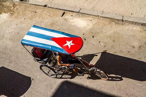 Bicitaxi Havana, Cuba van Rob Altena