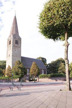 Dorpskerk te Heemskerk in kleur von Felagrafie .