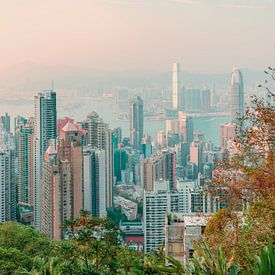 Hong Kong Skyline II van Pascal Deckarm
