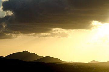 Zonsondergang Lanzarote sur Tomas Grootveld
