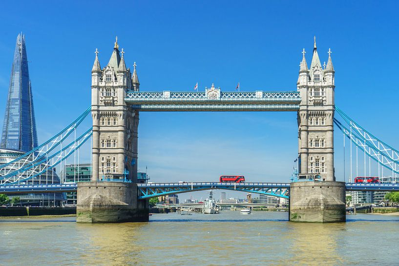 Londen Tower Bridge van Stefania van Lieshout