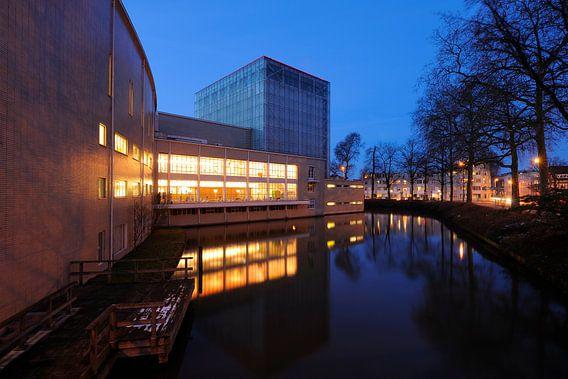 De achterzijde van de Stadsschouwburg Utrecht (2)