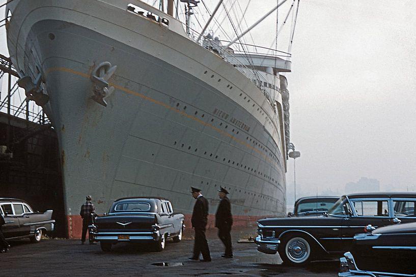 Nieuw Amsterdam 1959 van Timeview Vintage Images