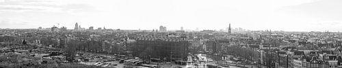 Panaroma van de Amsterdam Skyline van