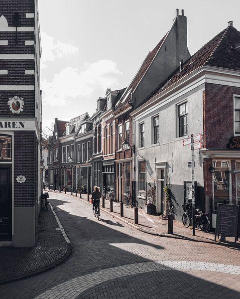 Haarlem: Hoogstraat. van Olaf Kramer