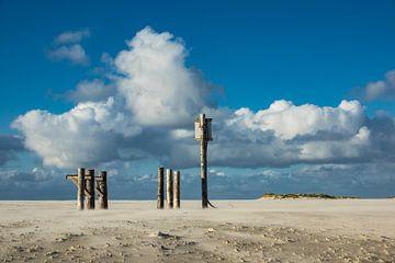 Am Strand der Nordsee auf der Insel Amrum von Rico Ködder