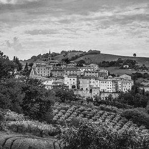 Dorp in Marken, Italië